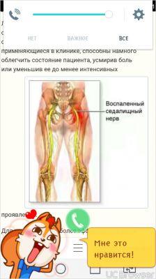 Воспаление нерва в позвоночнике и тазобедренном суставе перемежающаяся водянка сустава лечение
