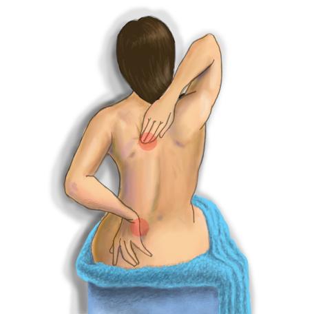 Боль при грыже грудного отдела позвоночника