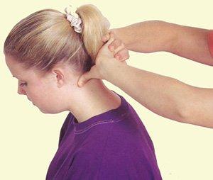 Болят мышцы шеи сзади при надавливании