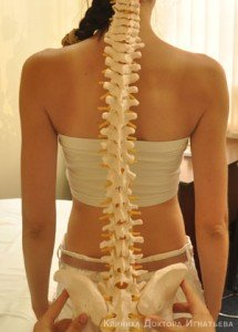 Периодическая боль с левой стороны спины