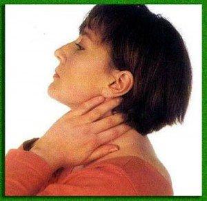 При остеохондрозе болит шея