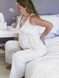 Болит копчик при беременности при сидении