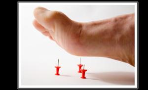 Онемел палец на ноге